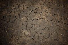 Υγρή ραγισμένη γη ή ρύπος για το κατασκευασμένο υπόβαθρο Στοκ εικόνα με δικαίωμα ελεύθερης χρήσης