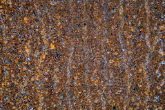 Υγρή σκουριά υποβάθρου Στοκ φωτογραφίες με δικαίωμα ελεύθερης χρήσης