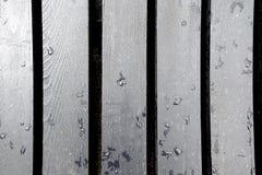 Υγροί και βρώμικοι πίνακες Στοκ Φωτογραφία