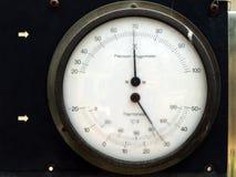 Υγρόμετρο και θερμόμετρο Στοκ φωτογραφίες με δικαίωμα ελεύθερης χρήσης