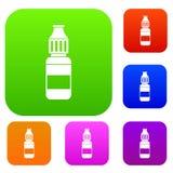 Υγρό για τα ηλεκτρονικά τσιγάρα καθορισμένα τη συλλογή απεικόνιση αποθεμάτων