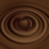υγρό γλυκό καρδιών μορφής &si διανυσματική απεικόνιση