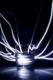 υγρό γυαλιού Στοκ εικόνες με δικαίωμα ελεύθερης χρήσης
