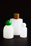 Υγρό μπουκάλι σαπουνιών για την επαναχρησιμοποίηση. Στοκ Εικόνες