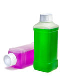 υγρό πλαστικό καθαρισμού  Στοκ Εικόνες