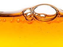 υγρό πορτοκαλί σαπούνι φ&upsilo Στοκ εικόνες με δικαίωμα ελεύθερης χρήσης