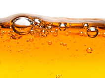 υγρό πορτοκαλί σαπούνι φ&upsilo Στοκ φωτογραφίες με δικαίωμα ελεύθερης χρήσης