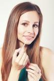 Υγρό στιλπνό κραγιόν στοκ φωτογραφία με δικαίωμα ελεύθερης χρήσης