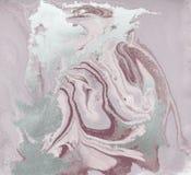 Υγρό χρυσός σχέδιο ανασκόπηση χλωμή - ροζ Στοκ φωτογραφία με δικαίωμα ελεύθερης χρήσης