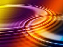 υγρό χρωμάτων Στοκ εικόνες με δικαίωμα ελεύθερης χρήσης