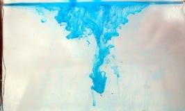 υγρό χρωμάτων Στοκ Φωτογραφίες