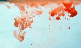 υγρό χρωμάτων Στοκ Φωτογραφία
