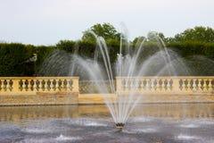 Υδάτινα έργα στον κήπο σε Kromeriz Στοκ εικόνα με δικαίωμα ελεύθερης χρήσης