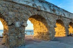 Υδραγωγείο, που χτίζεται στη βυζαντινή περίοδο Στοκ εικόνες με δικαίωμα ελεύθερης χρήσης