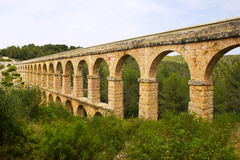 υδραγωγείο ρωμαϊκή Ισπανία tarragona Στοκ εικόνα με δικαίωμα ελεύθερης χρήσης