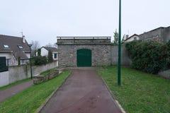 Υδραγωγείο σε arcueil-Cachan, Παρίσι, το πρωί Στοκ φωτογραφία με δικαίωμα ελεύθερης χρήσης