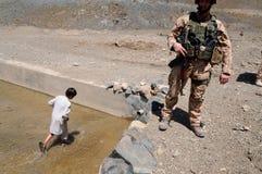 Υδραγωγείο στο Αφγανιστάν Στοκ Φωτογραφίες