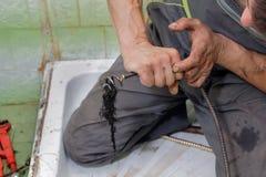 υδραυλική εγκατάσταση στοκ εικόνες με δικαίωμα ελεύθερης χρήσης