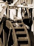 υδραυλικός τροχός μύλων Στοκ Εικόνες