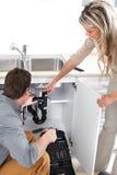υδραυλικός στοκ φωτογραφία με δικαίωμα ελεύθερης χρήσης