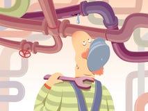 υδραυλικός απεικόνιση αποθεμάτων