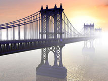 υδρονέφωση γεφυρών απεικόνιση αποθεμάτων