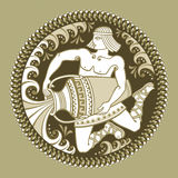 Υδροχόος υπογράφει zodiac Στοκ φωτογραφία με δικαίωμα ελεύθερης χρήσης