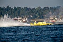 υδρο αγώνας βαρκών απεριό& Στοκ Φωτογραφίες