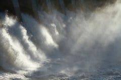 Υδρο Spillway φραγμάτων Στοκ εικόνα με δικαίωμα ελεύθερης χρήσης