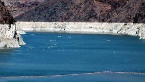 Υδρόμελι λιμνών επάνω από το φράγμα Hoover Στοκ εικόνα με δικαίωμα ελεύθερης χρήσης