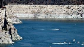 Υδρόμελι λιμνών επάνω από το φράγμα Hoover Στοκ φωτογραφία με δικαίωμα ελεύθερης χρήσης