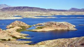 Υδρόμελι λιμνών και το φράγμα Hoover Στοκ φωτογραφία με δικαίωμα ελεύθερης χρήσης