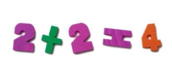 υλικά μαθηματικά που μελ Στοκ Φωτογραφία