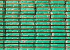 υλικά σκαλωσιάς σανίδων Στοκ Φωτογραφίες