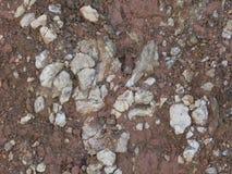 Υλική πέτρα σύστασης αμμοχάλικου γρανίτη στοκ εικόνα