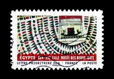 Υλικό από σε όλο τον κόσμο - Αίγυπτος, τέχνη serie, circa 2011 Στοκ Εικόνες