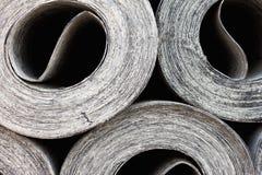 υλικό ruberoid υλικού κατασκ&epsilon στοκ φωτογραφίες