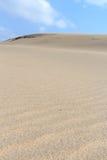δυναμική υψηλή άμμος σειράς αμμόλοφων Στοκ εικόνες με δικαίωμα ελεύθερης χρήσης