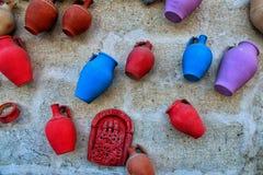 Υπάρχουν σημεία σε έναν τοίχο από το cappadocia Στοκ φωτογραφία με δικαίωμα ελεύθερης χρήσης
