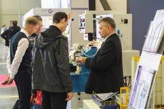 Υπάλληλοι και επισκέπτες Στοκ Εικόνα