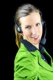 Υπάλληλος τηλεφωνικών κέντρων Στοκ Εικόνες