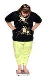 υπέρβαρες γυναίκες κλι& Στοκ Εικόνα