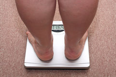 υπέρβαρες γυναίκες ποδ&i στοκ φωτογραφία με δικαίωμα ελεύθερης χρήσης