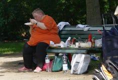 Υπέρβαρο πρόσωπο Στοκ φωτογραφίες με δικαίωμα ελεύθερης χρήσης