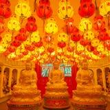 Υπέροχα ανάβω-επάνω στο ναό Si Kek Lok σε Penang Στοκ φωτογραφία με δικαίωμα ελεύθερης χρήσης