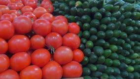 Υπέροχα προθήκη στη φυτική αγορά φιλμ μικρού μήκους