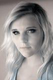 υπέρυθρος έφηβος κοριτ&sigm Στοκ εικόνα με δικαίωμα ελεύθερης χρήσης