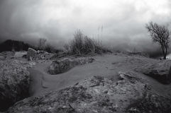 υπέρυθρος θυελλώδης ημ Στοκ εικόνες με δικαίωμα ελεύθερης χρήσης