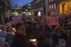 Υπέρ ζωή Vigil 4/12/12 (3) Στοκ φωτογραφίες με δικαίωμα ελεύθερης χρήσης