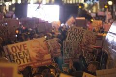 Υπέρ ζωή Vigil 4/12/12 (7) Στοκ Φωτογραφίες
